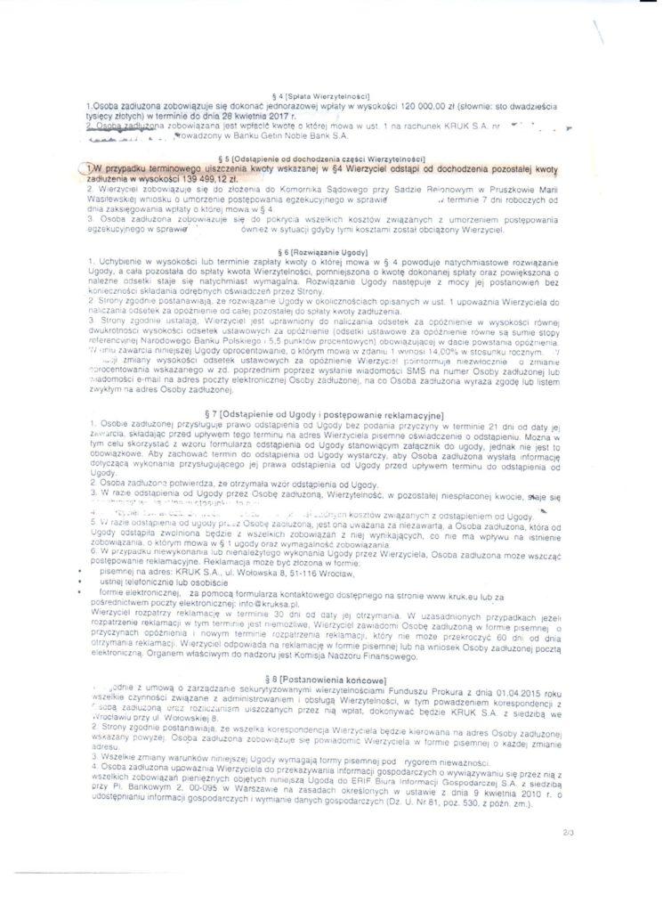Ugoda z KRUKiem - oddłużanie komornicze, umorzenie egzekucji komorniczej, Conectum
